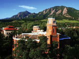 University of Colorado - Old Main and Flatirons