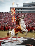 Florida State University - Renegade and Chief Osceola on the Field
