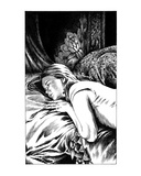 Sleeping Victim (Revenge of the Vampire  Illustration no 26)