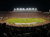 Florida State University - Doak Campbell Stadium at Night