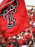 Texas Tech University - Red Raider Flag Flies on Game Day