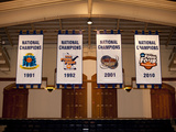 Duke University - Duke Basketball National Championship Banners