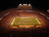University of Tennessee - Marching Band T in Neyland Stadium