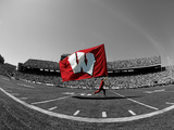 University of Wisconsin - W Flag in Camp Randall
