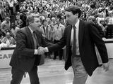 University of North Carolina - Coach Dean Smith Greeting Duke