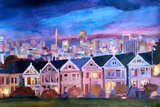 San Francisco - Painted Ladies - Alamo Sq
