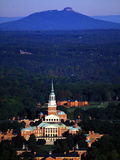 Wake Forest University - Chapel Aerial