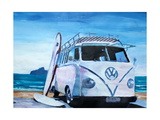 The White Volkswagen Surf Bus