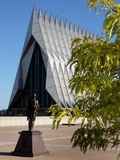 Air Force Academy - Cadet Chapel from Honor Court