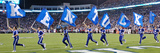 University of Kentucky - Kentucky Flag Panorama