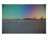 Barren Rainbows of Frost  North Dakota