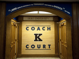 Duke University - Coach K Court  Cameron Indoor Stadium