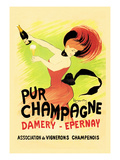 Pur Champagne Reproduction d'art par Leonetto Cappiello