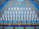 University of North Carolina - Dean Smith Center Retired Jersey Wall Mural