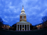 Wake Forest University - Wait Chapel Lit Up