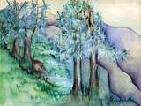 Great Smoky Mountains Reproduction d'art par Zelda Fitzgerald