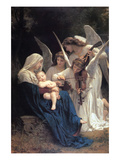 Song of the Angels Reproduction d'art par William Adolphe Bouguereau