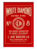 White Diamond Extra Fine Boom Label