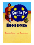 Sante Fe Brand Brooms