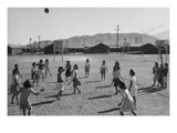 Vollyball Reproduction d'art par Ansel Adams