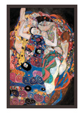 L'étreinte Reproduction d'art par Gustav Klimt