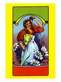 Daisy Maid Broom Label