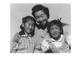 Mrs Nakamura and 2 Daughters (Joyce Yuki and Louise Tami