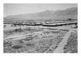 Manzanar from Guard Tower  Summer Heat
