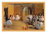 Dance Classes at the Opera