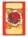Globe Broom Label