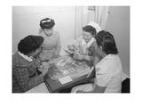 Bridge Game  Nurse Aiko Hamaguchi  Nurse Chiye Yamanaki  Catherine Yamaguchi  Kazoko Nagahama