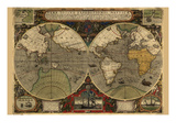 Vera Totius Expeditionis Nautica (World Map)