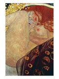 Danae Reproduction d'art par Gustav Klimt