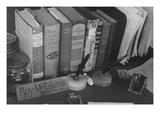 Roy Takeno's Desk  Manzanar Relocation Center