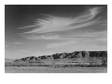View South from Manzanar to Alabama Hills Reproduction d'art par Ansel Adams