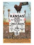 Kansas! for James G Blaine