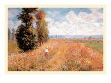 Paysage Pres De Giverny