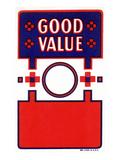 Good Value Broom Label