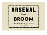 Arsenal Brand Broom