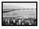Baseball Game at Manzanar Reproduction d'art par Ansel Adams