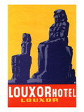 Louxor Hotel Luggage Label