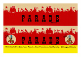 Parade Broom Label