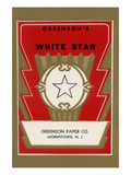White Star Broom Label