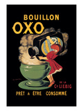 Bouillon Oxo Reproduction d'art par Leonetto Cappiello