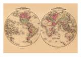Johnson's World Map