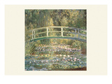 Waterlilies and Japanese Bridge