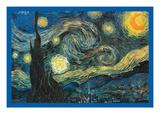 La nuit étoilée Reproduction d'art par Vincent Van Gogh