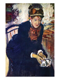 Portrait of Miss Cassatt