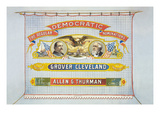Democratic Nominations for President  Grover Cleveland for Vice Pres't  Allen G Thurman