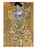 Portrait of Block-Bauer Reproduction d'art par Gustav Klimt